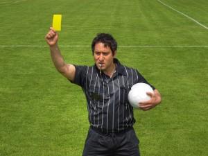 arbitre football sport
