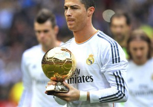 Ballon d'or Ronaldo Football